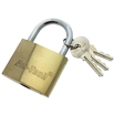 Padlock Brass Imported 63mm