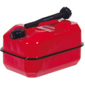 5Ltr Metal Petrol Can Red