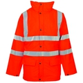 Hi Vis Exec Traffic Jacket GO/RT