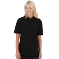 UCC004 Polycotton Unisex Heavyweight Polo Shirt 240g Black