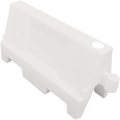 Evo Water Fillable Traffic Barrier White