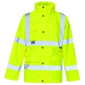 Hi Vis Unlined Jacket Yellow