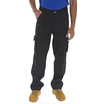 Newark Combat Work Trousers (Reg Leg) Black