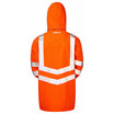 PULSAR® PR499 Hi Vis Orange Unlined Storm Coat