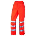 Hi Vis Orange Ladies Over Trousers LL02-O