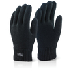 Thinsulate Woolly Gloves Black