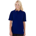 UCC004 Polycotton Unisex Heavyweight Polo Shirt 240g Navy