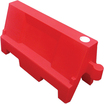 Evo Water Fillable Traffic Barrier Red