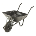 Wheelbarrow Easiload Solid Tyre (Black) 90Ltr