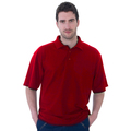 UCC003 Polycotton Unisex Polo Shirt 180g Red