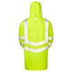 PULSAR® P187 Hi Vis Yellow Padded Storm Coat