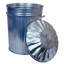 Galvanized Dustbin
