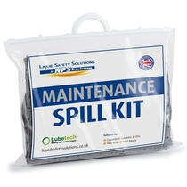 Lubetech Maintenance Spill Kit Clip Closed Bag 15 Litre