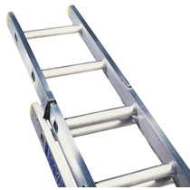 Ladder Trade Aluminium 2 Section En131 3.5m - 5.94m
