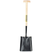 Shovel Wooden Handle Square Mouth