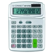 Q Connect Large Table Top 12 Digit Calculator Grey