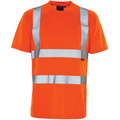 Hi Vis Bird Eye T-Shirt GO/RT