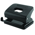 Q Connect Medium Duty Hole Punch Black