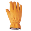Glo236 Leather Cow Grain Hide Lined Driver Glove